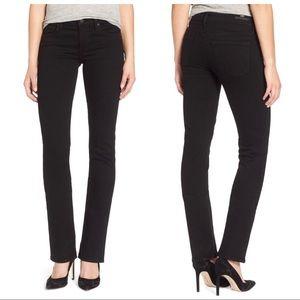 Citizens of Humanity Ava Straight Leg Black Jeans